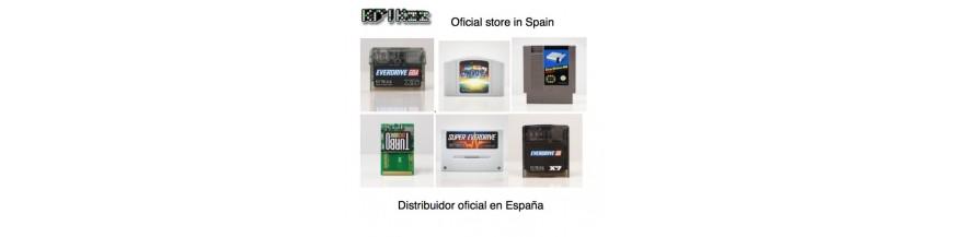 Everdrive krikzz store Spain oficial