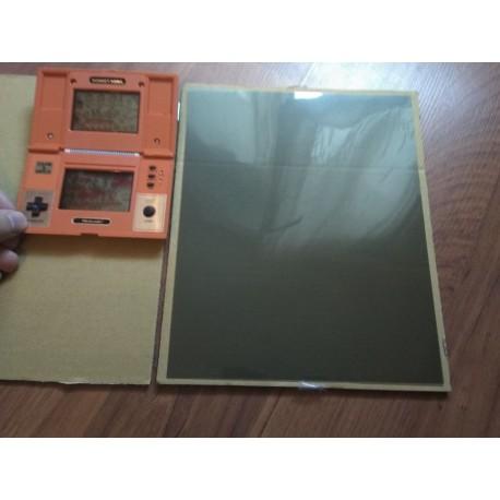 Linear Polarizer Film 200x250mm Polarized Filter For Game watch X 1 pcs