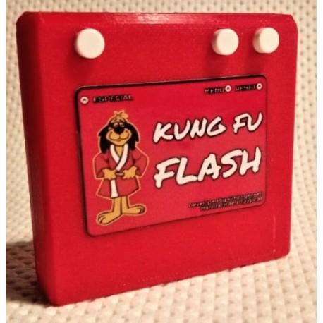 KungFu flash para Commodore 64, Boxed 3D, Tarjeta SD